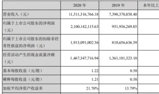 汇川技术(300124.SZ)去年净利21亿 商誉20亿